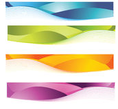Banners. Banner easy to resize or change color Stock Photography