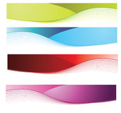 Banners. Banner easy to resize or change color Stock Photo