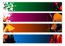 Banners abstract Royalty Free Stock Image