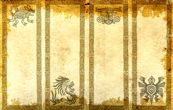 Banners with American Indian traditional patterns Royalty Free Stock Image