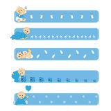 Banners baby Stock Images