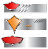 Banners, backgrounds Stock Photography