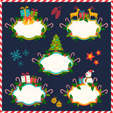 Banners for Christmas Royalty Free Stock Image