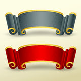 Banners collections chinese style design. Illustration Royalty Free Stock Photo
