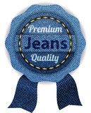 Banners from denim. Banners premium quality from denim Stock Photos