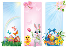 Banners for Easter Stock Images