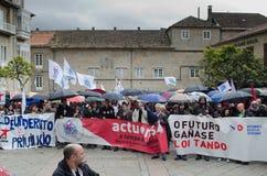 Banners en vlaggen Stock Fotografie