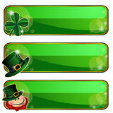 Banners For Saint Patrick S Day Royalty Free Stock Images