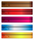 Banners, headers Stock Images