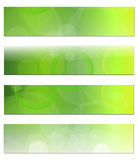 Banners, headers Royalty Free Stock Photos