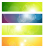 Banners, headers Royalty Free Stock Photo