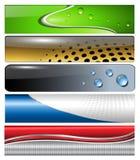 Banners, headers Stock Photo
