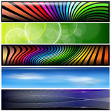 Banners, headers Royalty Free Stock Image