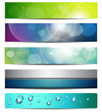 Banners, headers Royalty Free Stock Images