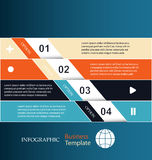 Banners. infographic template. Banners infographic template with place for your content Stock Photo