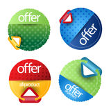 Banners,labels or tags for web Royalty Free Stock Photo
