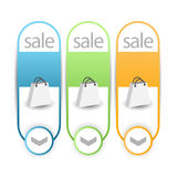 Banners,labels or tags for web Stock Photos