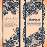 Banners lace Royalty Free Stock Photo