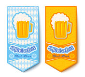 Banners for Oktoberfest Stock Photo