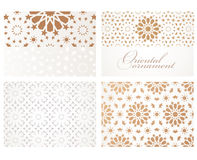 Banners in oriental style Royalty Free Stock Photos
