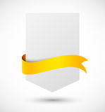 Banners with ribbon Royalty Free Stock Image