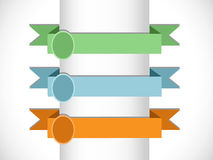 Banners and ribbons Royalty Free Stock Photos