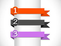 Banners and ribbons Royalty Free Stock Images