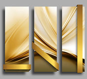 Banners With Ribbons Royalty Free Stock Image