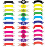 Banners ribbons Stock Image