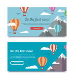 Banners for SEO Royalty Free Stock Photos
