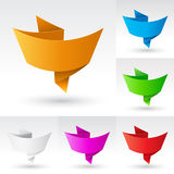 Banners set. Royalty Free Stock Photography