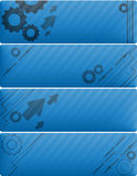 Banners Set Stock Images