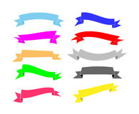Banners Set Royalty Free Stock Photography