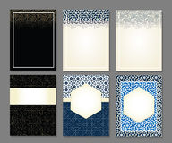 Banners set of islamic. Royalty Free Stock Photos