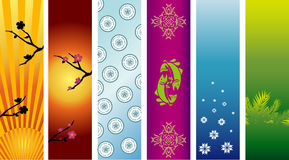 Banners or sidebars Stock Images