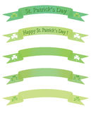 Banners for St. Pastricks Day Stock Images