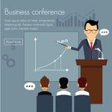 Banners template set. Conference, presentation. Banners template set. Conference presentation partnership. Web illustration. Website infographics elements Stock Image
