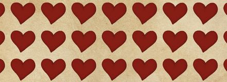 Banners templates  with heart design,. Banners templates with heart design,vintage Stock Image