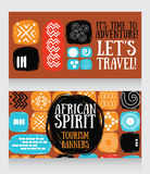 Banners for travels Royalty Free Stock Photos