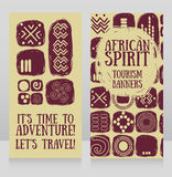 Banners for travels Royalty Free Stock Photography
