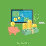 Banners van Online Internet-Technologie Royalty-vrije Stock Fotografie