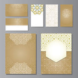 Banners and visit cards set Royalty Free Stock Photography