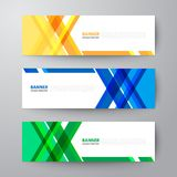 Banners web design template abstract  background. Modern geometrics banners web design template abstract  background elements, Business presentation Stock Photos