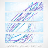 Banners for web. (Vector collection12) Stock Photo