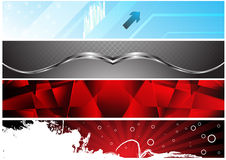 Banners for web (Vector collection2) Royalty Free Stock Images