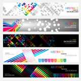 Banners for web (Vector collection3). Clip-art Stock Images