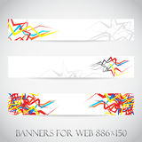 Banners for web (Vector collection4) Stock Photo