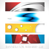 Banners for web (Vector collection7) Royalty Free Stock Images