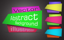 Banners for web. Vector Illustration Royalty Free Stock Photography