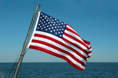 Bannière étoilée de drapeau photo stock
